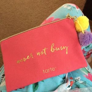Tarte makeup bag